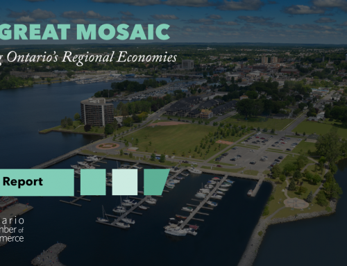 Ontario Chamber Network's Regional Economic Development Report