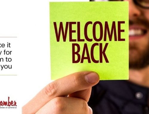 Welcome back! Helping your customers regain their confidence